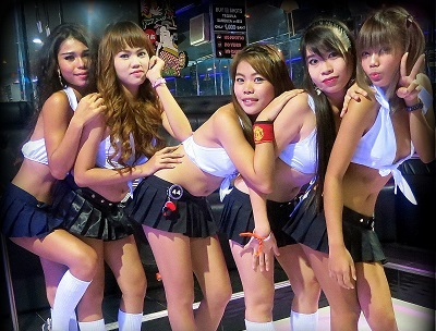 walking street girls partying in sugarbaby gogo